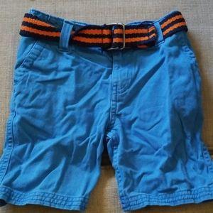 Boys shorts with belt